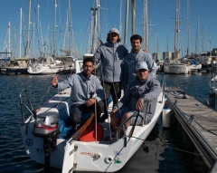 Victoria del Michelle Sailing Team en la Winter Series de J80