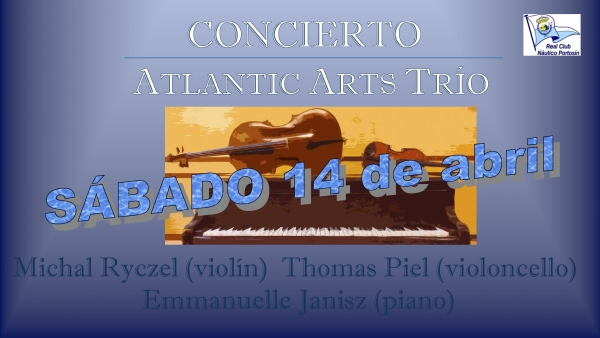 Concierto Atlantic Arts Trio - Violín, Violoncello y Piano